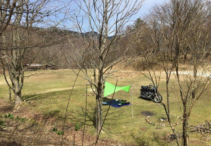自然豊かな和佐又山キャンプ場