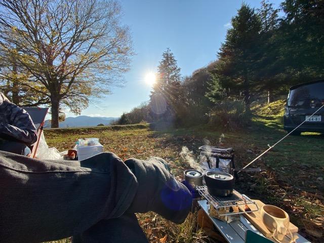 天国に一番近いキャンプ場 和佐又山キャンプ場
